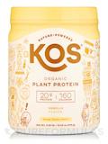 Organic Plant Protein, Vanilla Flavor - 13.05 oz (370 Grams)