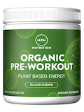 Organic Pre-Workout - Plant Based Energy, Island Fusion Flavor - 8.5 oz (240 Grams)
