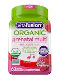 Organic Prenatal Multi Gummy, Ripe Raspberry Flavor - 60 Vegetarian Gummies