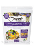 Organic Probiotic Sorghum Cereal Triple Berry Blend - 7 oz (200 Grams)