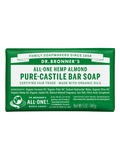 Pure Castile Hemp Almond Bar Soap - 5 oz (140 Grams)