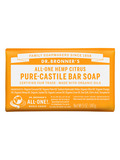Organic Pure Castile Citrus Orange Bar Soap - 5 oz (140 Grams)
