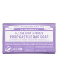 Organic Pure Castile Hemp Lavender Bar Soap - 5 oz (140 Grams)