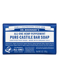 Organic Pure Castile Hemp Peppermint Bar Soap - 5 oz (140 Grams)