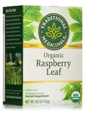 Organic Raspberry Leaf Tea - 16 Tea Bags