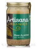 Organic Raw Almond Nut Butter - 14 oz (397 Grams)