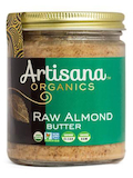 Organic Raw Almond Butter - 8 oz (227 Grams)