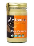 Organic Raw Cashew Butter - 14 oz (397 Grams)