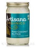 Organic Raw Coconut Butter - 14 oz (397 Grams)