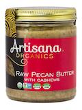Organic Raw Pecan Butter With Cashews - 8 oz (227 Grams)