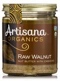 Raw Walnut Nut Butter with Cashews - 8 oz (227 Grams)