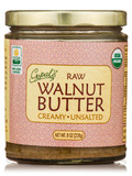 Organic Raw Walnut Butter, Unsalted - 8 oz (228 Grams)