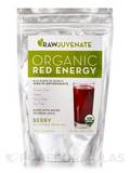 Organic Red Energy Powder Berry Flavor - 7.90 oz (224 Grams)