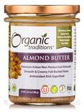 Organic Roasted Almond Butter - 6.3 oz (180 Grams)