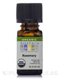 Organic Rosemary Essential Oil 0.25 fl. oz (7.4 ml)