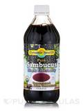 Organic Sambucus Black Elderberry Juice Concentrate, Unsweetened - 16 fl. oz (473 ml)