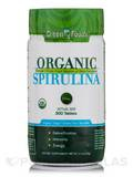 Organic Spirulina 200 mg 300 Tablets