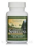 Organic Spirulina 500 mg - 100 Tablets