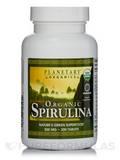 Organic Spirulina 500 mg - 200 Tablets