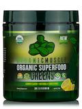 Organic Superfood Greens, Lemon Flavor - 270 Grams