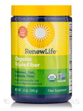 Organic Triple Fiber Powder 12 oz
