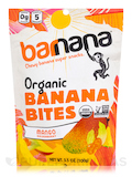 Organic Tropical Chewy Banana Bites - 3.5 oz (100 Grams)