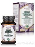 Organic Turmeric 500 mg - 30 Veggie Capsules