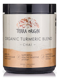 Organic Turmeric Blend Powder, Chai Flavor - 6.35 oz (180 Grams)