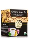 Organic Turmeric Ginger Tea - 18 Tea Bags