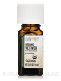 Organic Vetiver Essential Oil - 0.25 fl. oz (7.4 ml)