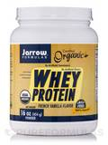 Organic Whey Protein French Vanilla Powder - 16 oz (454 Grams)