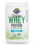 Organic Whey Protein Grass Fed, Lightly Sweet, No Stevia - 16.95 oz (480.5 Grams)