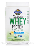 Organic Whey Protein Grass Fed, Vanilla - 13.37 oz (379 Grams)