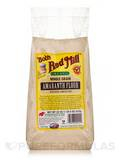Organic Whole Grain Amaranth Flour, Stone Ground - 22 oz (623 Grams)