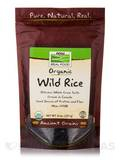 NOW® Real Food - Organic Wild Rice - 8 oz (227 Grams)