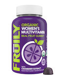 Organic Women's Multivitamin Gummies, Mixed Fruit Flavor - 60 Gummies