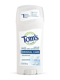 Original Care Deodorant, Unscented - 2.25 oz (64 Grams)