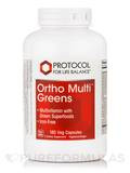 Ortho Multi Greens Iron-Free 180 Vegetarian Capsules