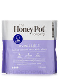 Overnight Herbal Menstrual Pads - 12 Count