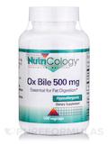 Ox Bile 500 mg 100 Vegetarian Capsules