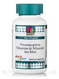P2i Baby™ Preconception Vitamins & Minerals for Men - Hypoallergenic - 120 Capsules