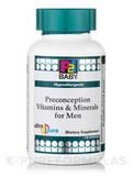 P2i Baby™ Preconception Vitamins & Minerals for Men - Hypoallergenic - 120 Capsules