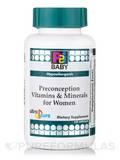 P2i Baby™ Preconception Vitamins & Minerals for Women - Hypoallergenic - 120 Capsules
