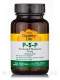 P-5-P (Pyridoxal-5-Phosphate) 50 mg - 100 Tablets