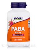 PABA 500 mg - 100 Capsules