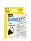 Panacur® C (fenbendazole) Canine Dewormer (Treats 10 lbs) - Box of 3 Packets (1 Gram each)