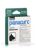 Panacur® C (fenbendazole) Canine Dewormer (Treats 20 lbs) - Three 2-Gram Packets (6 Grams)