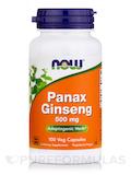 Panax Ginseng 500 mg - 100 Capsules