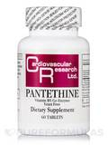 Pantethine (Vitamin B5 Co-Enzyme Yeast Free) - 60 Tablets