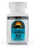 Pantothenic Acid 100 mg - 100 Tablets